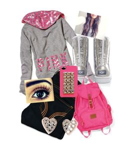 """""""what I'm acautally wearing right now 4 school"""" by bodnarsydney ❤ liked on Polyvore"""