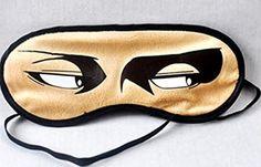 Wind's World Anime Attack on Titan Eye Mask Plush Eye Mask Sun-shade Eye Mask for Sleeping