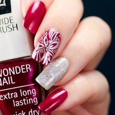 """@isadoraofficial Passionate from the #mesmerizing collection ❤️ stamping is done with @aengland_official Excalibur and Konad plate called Square 01. On my…"""