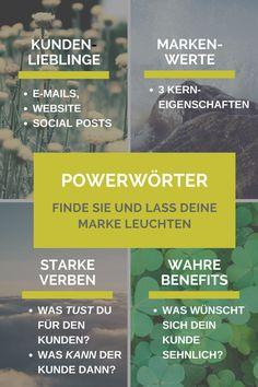 Wünschst du dir eine Liste mit 20 Wörtern der Macht? Die deinen Texten geheime Kräfte schenken?