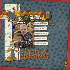 Simple Scrapbook Storytelling by SuzyQ Scraps » 12 Autumn Scrapbook Page Ideas