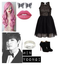 """""""♥SUGA♥ 7/3"""" by lucy-mtzj ❤ liked on Polyvore featuring art"""