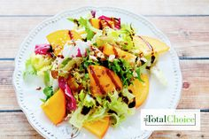 Total Choice Tropical Salad: A paradise vacation is now just bites away with this fruity lunch option. Eat this recipe on the Total Choice 1600-calorie plan.
