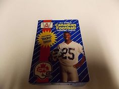 1991 ALL WORLD CANADIAN FOOTBALL FACTORY 110 CARD SET ROCKET ISMAIL