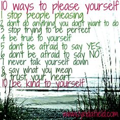 10 ways to please yourself