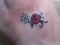 Lovely Ladybug Tattoo