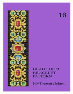 Bead Loom Vintage Motif 16 17 19 20 20A by MyTreasureIsland
