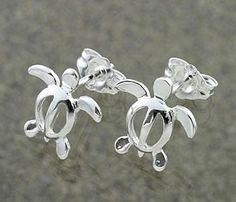 I always wear my sea turtle earrings!