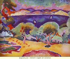Georges Braque. La Ciotat. Olga's Gallery.