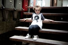 Jimi Hendrix Baby Kleid Vintage Black/White
