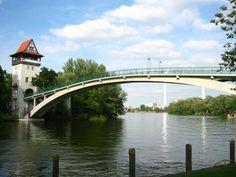 Berlin, Germany ~~~ Insel der Jugend - Abteibrücke
