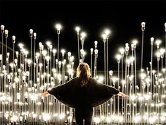 LEDscape: A Lightbulb Landscape in Portugal