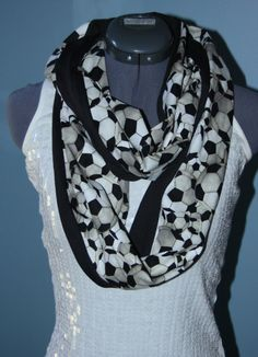 Soccer World Cup Infinity Scarf by StyleGypsies on Etsy, $25.00