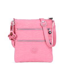 Keiko Crossbody Minibag - Macarrones rosados   Kipling