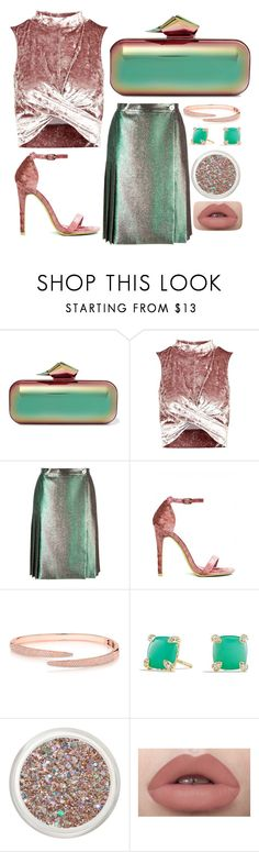 """ho lo"" by farrahaqs on Polyvore featuring Jimmy Choo, Topshop, Marco de Vincenzo, Anne Sisteron and David Yurman"