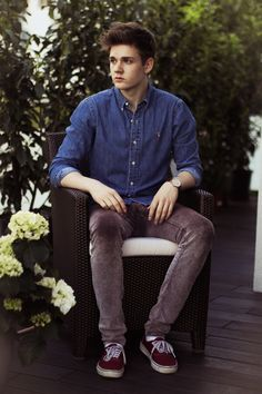 Leon  David - Polo Ralph Lauren Shirt, Cheap Monday Trousers, Vans Sneakers - THE VIEW