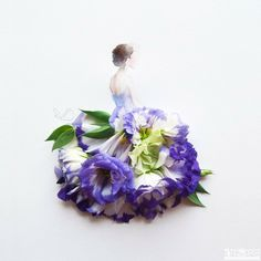 You'll Love The Artistry In These Adorable Flower Dresses