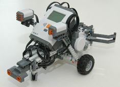 lego robotics robot designs   GrabBot from NXT One-Kit Wonders