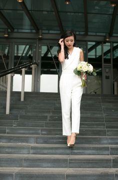 White Suit Bridal