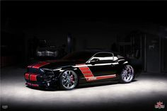 Sold* at Scottsdale 2013 - Lot #1398.1 2007 SHELBY GT500 CUSTOM 2 DOOR COUPE