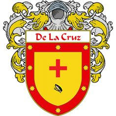 DeLaCruz Coat of Arms  http://spanishcoatofarms.com/ has a wide variety of products with your Hispanic surname with your coat of arms/family crest, flags and national symbols from Mexico, Peurto Rico, Cuba and many more available upon request.