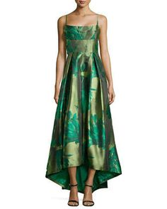 Sleeveless Floral Ball Gown  by Black Halo at Neiman Marcus.