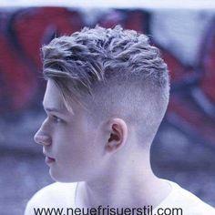 Verschiedene Blonde Frisur