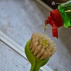Κυριακή στο σπίτι: Καθαρίζοντας το μεταλλικό φίλτρο του απορροφητήρα Celery, Cleaning Hacks, Cabbage, Projects To Try, Vegetables, Ethnic Recipes, Tips, Food, Kitchens