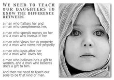 What we should teach our daughters and sons.
