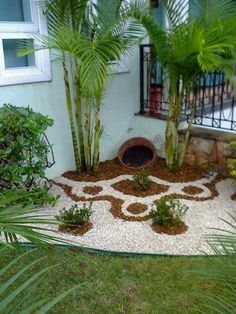 Easy diy landscaping ideas easy and simple landscaping ideas for beautiful garden designs easy garden design . Small Front Yard Landscaping, Florida Landscaping, Succulent Landscaping, Landscaping With Rocks, Modern Landscaping, Landscaping Tips, Garden Landscaping, Privacy Landscaping, Garden Shrubs