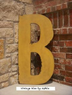 3 Foot Tall Wood Letters