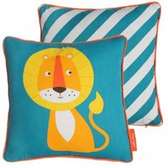 Howkapow - Sunshine Lion Organic Cotton Cushion