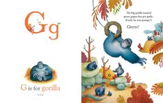 Illustration by Richard Johnson. Portfolio Samples: Children's Picture Books, Advertising, Packaging, Pop Up books, Editorial and Award Winning Artwork. Alphabet Book, Animal Alphabet, Children's Book Illustration, Nature Illustrations, Abc For Kids, Magazines For Kids, Animal Books, Children's Picture Books, Layout