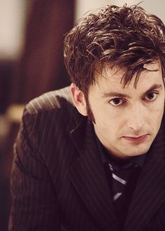 30 Days of New Who. Day 1 --- Favorite Incarnation of the Doctor. Tenth Doctor, David Tennant.