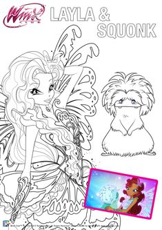 Winx Club Coloring Pages Gifts Quote Presents Colouring Books Gifs Gift Printable