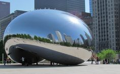 The Chicago Bean, Chicago.  Christina has been here many times.  I made it there in October 2012.  Yeah!