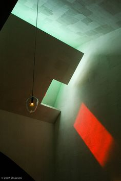 Chapel of St. Ignatius - Steven Holl - Seattle University by ScottLarsen, via Flickr