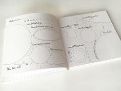 Bücher - Hallo Freunde · Freundebuch für den Kindergarten - ein Designerstück von Julia-Wolmerath bei DaWanda