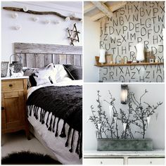 Create a #winter #wonderland in your home with these décor ideas inspired by the white, snowy outdoors.