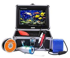 IP68 Fish Finder Camera with Night Version:full waterproof IP68 design with 15m cable,can work in dark night and 15m deep water.  MONITOR: 7 inch TFT color monitor with sun-visor ideal for bright environments. It is cold-resistant and waterproof with pull-resistant cables.  IMAGE QUALITY: Color CCD and HD 700 TV lines of the camera provides a clearer image than a 600TV lines camera.