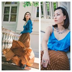 Get this look: http://lb.nu/look/8776393  More looks by Tracy Qiu: http://lb.nu/tracyqiu  Items in this look:  Dvf Maxi Skirt, Lulu Frost Necklace   #artistic #elegant #romantic #skirt #fancy #top #party