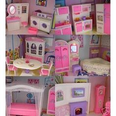 936 Best Barbie House And Furniture Images In 2019 Barbie Dolls