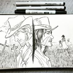 Mad Max, Star Trek, Red Dead Redemption 1, Herbs Illustration, John Marston, Read Dead, Mermaid Coloring Pages, Rdr 2, Black And White Drawing