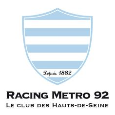 Racing Metro a TOP 14 2012 french rugby team in Colombes, near Paris Rugby Sport, Racing 92, French Rugby, Dan Carter, Rugby Championship, Le Club, Sports Clubs, Top 14, Ballon