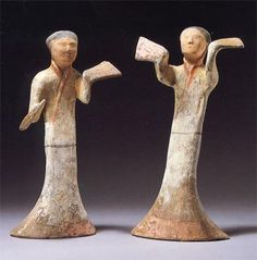 Han Dynasty Dancers : Source: Fine Chinese Ceramics, Furniture and Works of Art, Sotheby