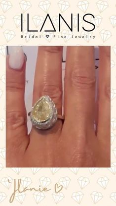 Platinum Pear Cut Big Natural Diamond Ring   GIA Certified 8.39CT Yellow Engagement Ring   Canary Diamond Ring   Anniversary Ring   There is a customer responsibility to clear all import related fees; refusal of paying those will result in a non-refundable return shipment. #jewelry #diamonds #rings #ilanisdiamonds Canary Diamond, Diamond Cuts, Diamonds And Gold, Natural Diamonds, Yellow Engagement Rings, Boho Jewelry, Unique Jewelry, Diamond Anniversary Rings, Big Naturals