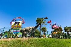 Dinopark in Cap d'Agde is een feestje voor het hele gezin!