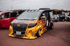 Toyota Alphard, Minivan, Scion, Modified Cars, Custom Trucks, Art Cars, Cars And Motorcycles, Vans, Vehicles
