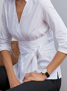 Sophia Wrap Shirt