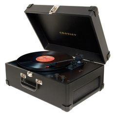 Crosley Keepsake USB Turntable, $129, now featured on Fab.